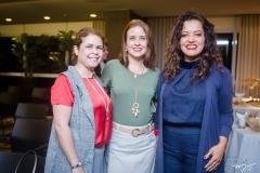 Katiane Morais, Rocaia Dutra e Patrícia Araújo