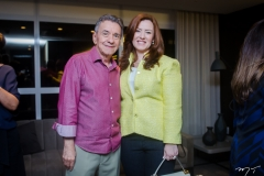 Majela Félix e Aline Barroso