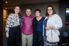 Renata Santiago, José Majela, Adriana Bezerra e Cléudia Félix