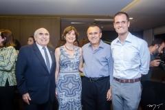 Wilton Daher, Cíntia Diógenes, Roque Albuquerque e Ênio Leal