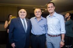 Wilton Daher, Roque Albuquerque e Ênio Leal
