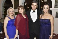 Ana e Cintya Aeres, Marcelo e Ana Carmen Cysne