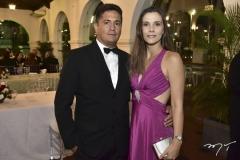 Bergson e Camila Coelho