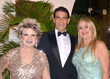 Islay Rangel, Wilson Loureiro e Rossana Alencar