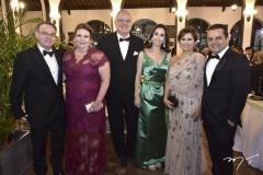 Esio de Sousa, Fernanda Pessoa, Luiz Fernando e Geovania Mota, Michele e Germano Albuquerque