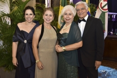 Fabiola Rocha, Samyra, Aloida e Paulo Guimarães