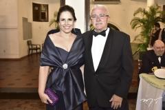 Fabiola e Alcimor Rocha