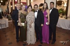Gaudêncio e Daniele Moreira, Michele e Germano Albuquerque, Camila e Bergson Coelho