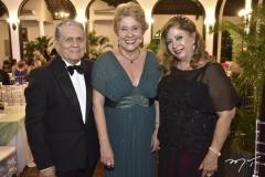José Maciel, Tereza Luiza Ponte e Nilza Freire