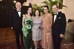 Luiz Fernando e Geovania Mota, Rita Vania, Carmem e Randal Pompeu