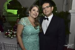 Milena e Roberto Medeiros