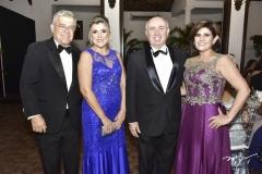 Paulo César Norões, Simone Moraes, Amaurilio e Sâmia Cavalcante