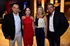 André Soares, Silvia Castro, Valéria e Rutênio Portela