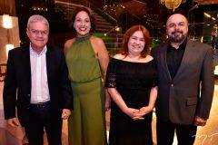 Edson Araújo, Márcia Gomes, Anadje Ibiapina e Flávio Patrício