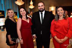 Karla Moraes, Adriana Sousa, Wellington Sampaio e Saneva Sampaio