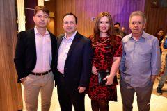 Rodrigo Guilhon, Igor Queiroz, Aline e Majela Felix