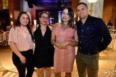 Sheila Alexandra, Lurde Silva, Camila Bastos e Diego Melo