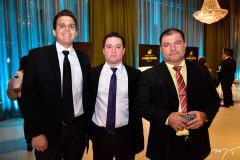 Thiago Arrais, Pedro Herinque e Livio Arruda
