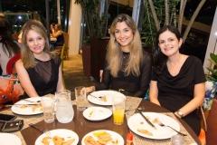 Denise Pio, Flávia Abeleira e Fernanda Diniz