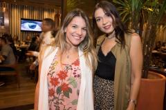 Flávia Ribeiro e Clarissa Rebolças