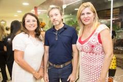 Ana Luiza Costa Lima, Rogerio Morais e Denise Menezes