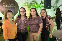 Cecilia Ferreira, Ana Clara Menezes, Maria Clara Menezes e Eliane Moreira