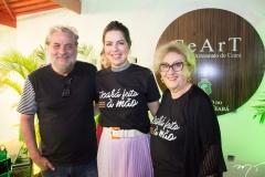 Paulo Linhares, Onélia Santana E Socorro França