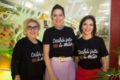 Socorro França, Onélia Santana E Patricia Liebmann