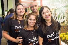 Ticiana Gomes, Will Jackson, Dirce Aragão E Adriana Albuquerque