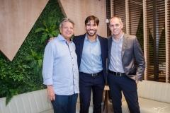 Dr. Bastos, Tiago Alcântara e Guilherme Pequeno