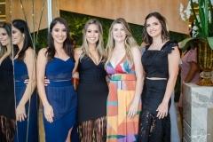 Edilene de Oliveira, Natália Marinho, Milena Esmeraldo e Ticiana Oliveira