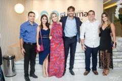 Fabiano Silva Lopes, Edilene Oliveira, Talita Bessa, Tiago Alcântara, Mateus Feitosa e Natália Marinho