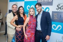 Fernando Guanabara, Isa Xavier, Talita Bessa e Tiago Alcântara