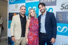 Fernando Guanabara, Talita Bessa e Tiago Alcântara