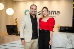 Fernando Guanabara e Mirella Vieira