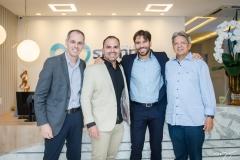Guilherme Pequeno, Fernando Guanabara, Tiago Alcântara e Dr. Bastos