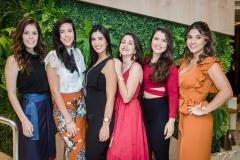 Lorena Bezerra, Mariana Oliveira, Maiara Sousa, Merislane Martins, Yohanna Magalhães e Fernanda Moreira