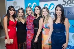Marina Lima, Natália Marinho, Talita Bessa, Ticiana Oliveira, Milena Esmeraldo e Edlene de Oliveira