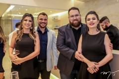Bruna e Thyago Passos, Renato e Samantha Correia