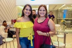 Ingrid Leão e Elaine Machado