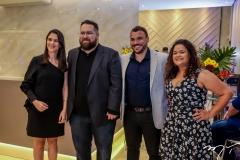 Ligia Felismino, Renato Correia, Tyago Passos e Nicole Weyne