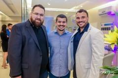 Renato Correia, Alexandre Vitor e Thyago Passos