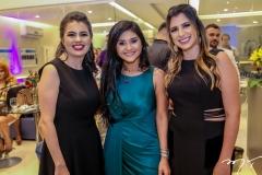 Samantha Correia, Mileide Mihaile e Bruna Passos