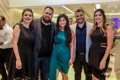 Samantha e Renato Correia, Mileide Mihaile,Thyago e Bruna Passos