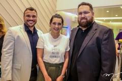 Thyago Passos, Marcia Travessoni e Renato Correia