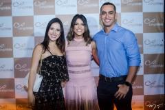 Ana Karla, Clarissa Aguiar e Carlos Junior