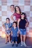 Bianca, Levi, Lara, Orlando e Wanessa Neri
