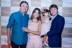 Clarissa Aguiar, Paulo e Sarah Porto