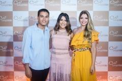 Felippe Torroes, Clarissa Aguiar e Natália Queiroz