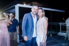 Fernando Muniz e Alessandra Frazão